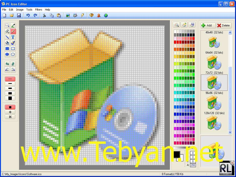 PC Icon Editor v3.6