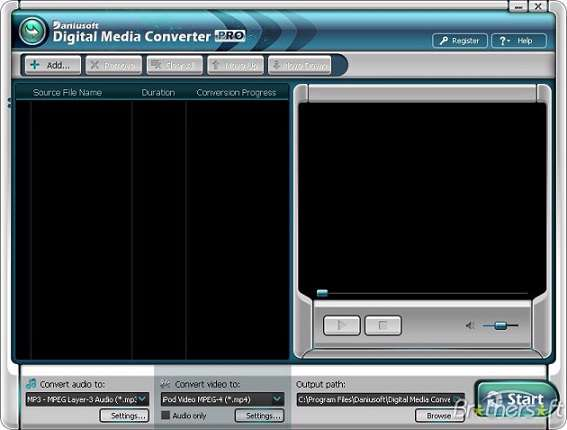 Daniusoft Digital Media Converter Pro 2.1