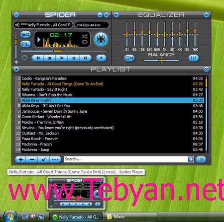 Spider Player Pro 2.4.1 Portable