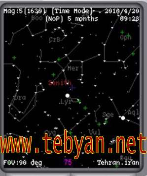 Mobile Star Chart