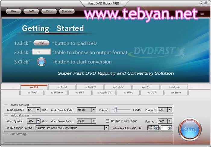 Fast DVD Ripper PRO