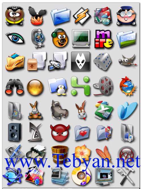 Mega Collection Of Icons Over 3000 Icons