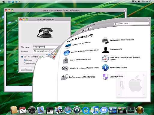 Turn Windows XP into Mac OSX