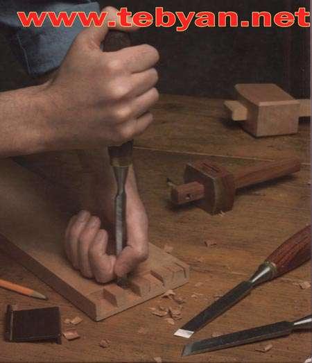 آموزش ساختن لوازم با ابزار دستی نجاری به شکل ساده