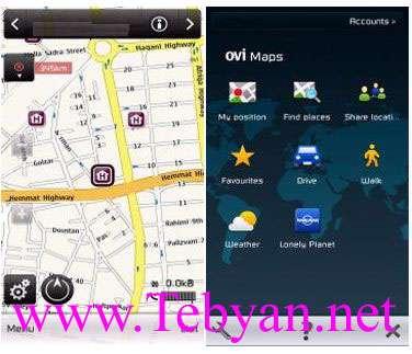 Ovi Maps V3.03