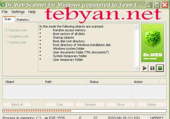 Dr web antivirus v6.0.1.3150