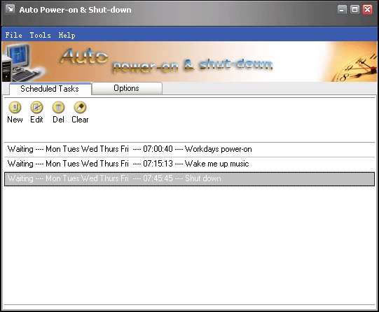 Auto Power on Shutdown Professional 2.00