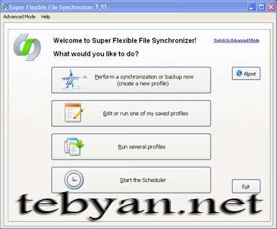 Super Flexible File Synchronizer 5.00