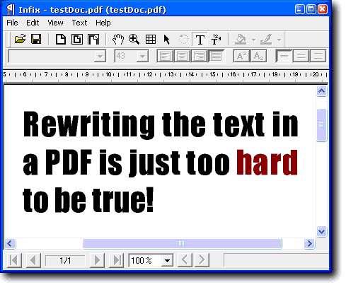 InfixPro PDF Editor v4.18