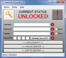 Openetic Screen Key 2.5.0