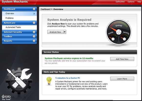 System Mechanic 9.5 Pro
