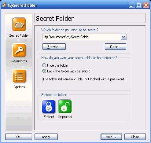 MySecretFolder v4.3