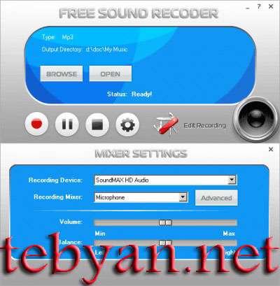 Free Sound Recorder 2010