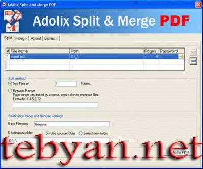 Adolix Split & Merge PDF 2.0
