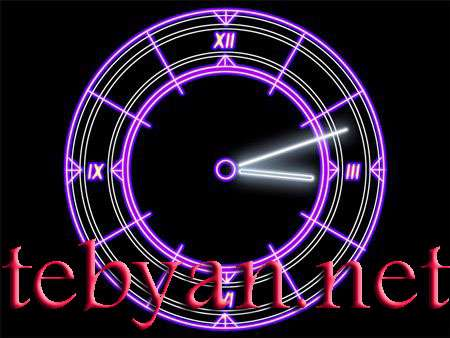Luminescent Clock ScreenSaver 2.3
