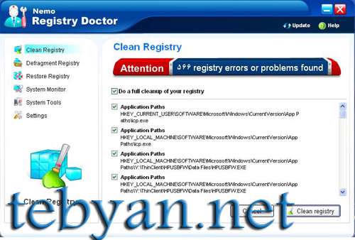 Nemo Registry Doctor v2.0.1