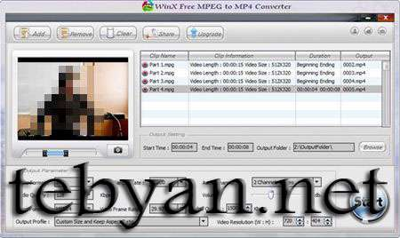 Free MPEG to MP4 Converter 2.0.2