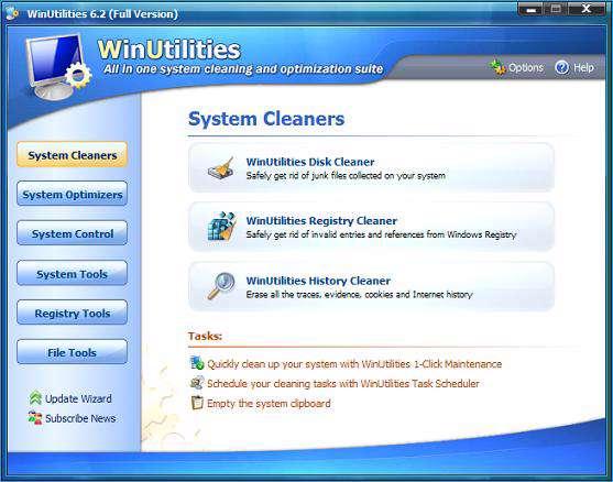 WinUtilities Pro 9.8 Portable