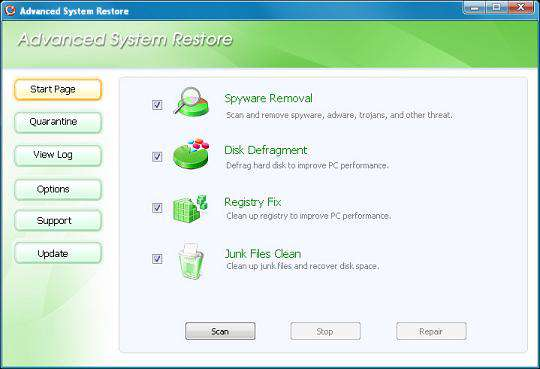 Portable Advanced System Restore 2.0