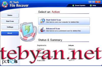 PCTools File Recover 7.5.0.15