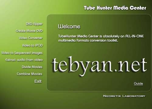 Tube Hunter Media Center v4.1.4196.0