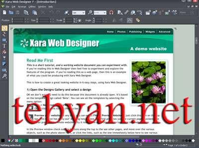 Xara Web Designer 6.0.1.13296