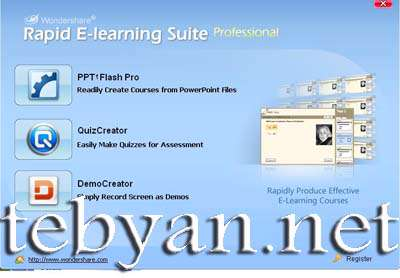 Wondershare Rapid E-learning Suite Pro v5.6.5.8