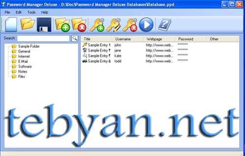 Kristanix Software Password Manager Deluxe 3.822