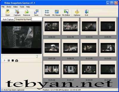 Video Snapshots Genius 2.5