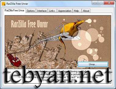 RarZilla Free Unrar 2.57