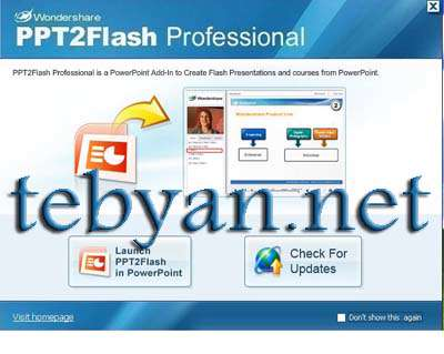 Wondershare PPT2Flash Professional 5.6.6.42