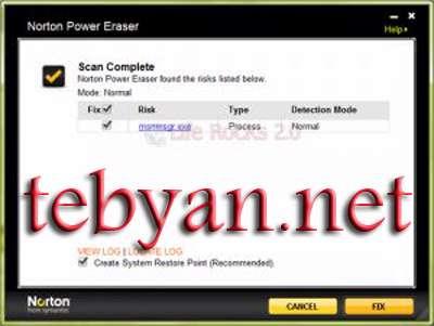 به روز رسانی نرم افزار امنیتی Norton & Symantec ( خرداد ماه 1390)
