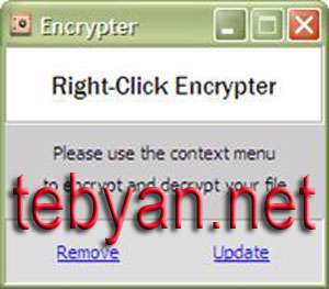 Right Click Encrypter 1.1