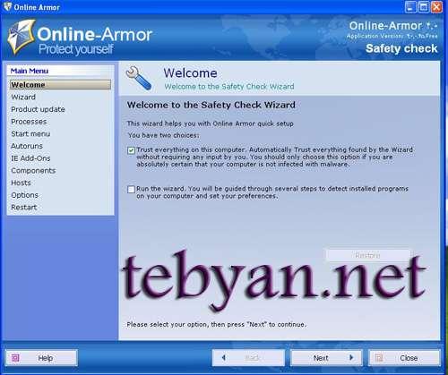 Online Armor Personal Firewall 4.5.0.234
