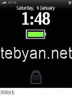 Digitalfootmark Lock Screen v0.11
