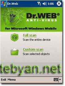 Dr.Web Antivirus v5.00.0.02120