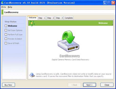 WinRecovery CardRecovery v5.30.1206