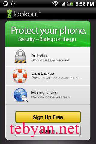 Lookout Mobile Security v5.5