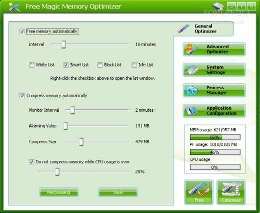 BitBitCare Magic Memory Optimizer v8.2.1.645