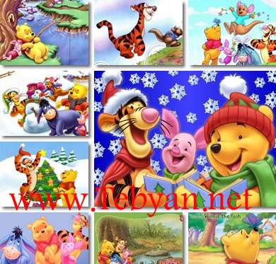 Wallpapers Winnie the Pooh Cartoon