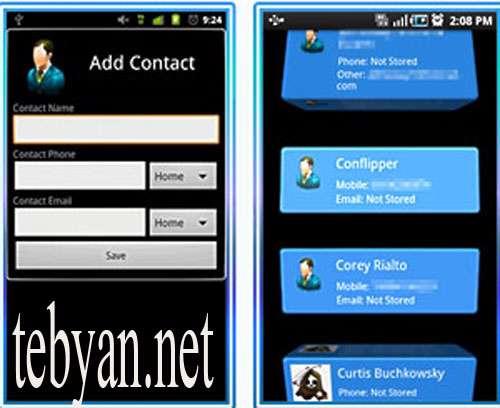 3D Contact List v0.91B