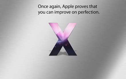 والپيپر مک او اس X اپل