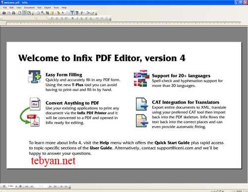 InfixPro PDF Editor 4.30
