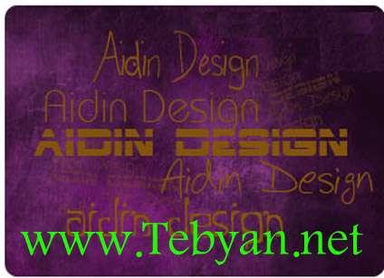 فونت حرفه ای برای طراحی هدر