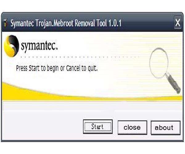 Trojan Mebroot Removal Tool 1.0.2