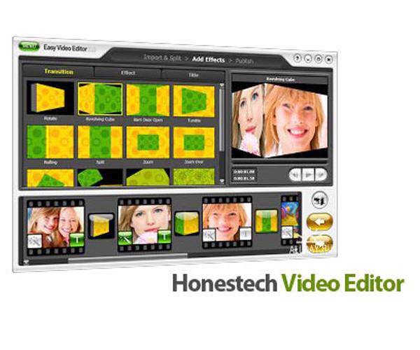 Honestech Video Editor v8.0.9 Portable