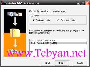 MozBackup 1.5.1