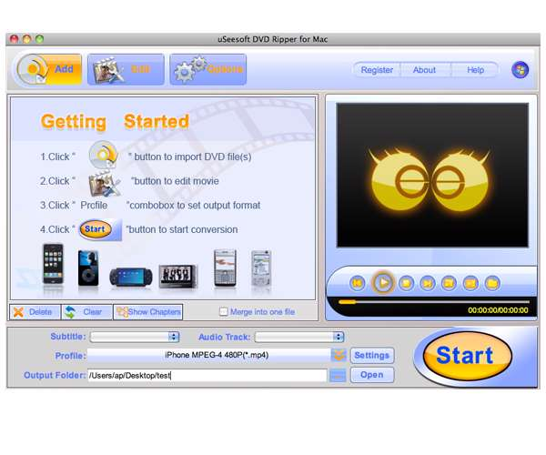 uSeesoft DVD Ripper 2.0.3.3
