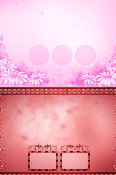 مجموعه ای شامل دو فرم لایه باز رمانتیک با فرمت PSD
