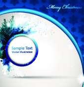 دانلود فرم انتزاعی کریسمس (Christmas Abstract Frames)